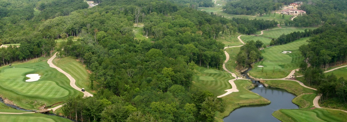 Golfing in Branson, Missouri